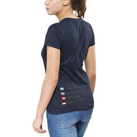 ÖTILLÖ Peach Naiset Lyhythihainen paita , sininen